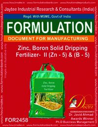 Zinc-Boron Solid Dripping Fertilizer -II Z-5 & B-5