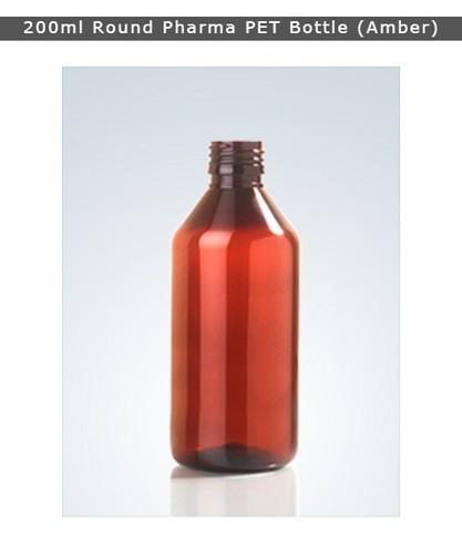 200ml Pharma Pet Bottle