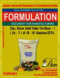 Zinc-Boron SolidFoleir Fertilizer I Z-7 B-3 Chelatd EDTA