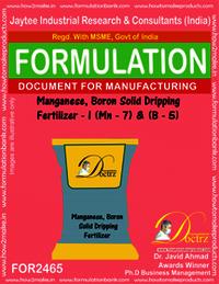 Mag-Boron Solid Dripping Fertilizer I Mg7+B-5