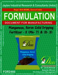 Mag-Boron Solid Dripping Fertilizer II Mg7+B-3