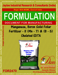 Manganese Boron Solid Foiler Fertilizer II formula