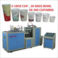 Double Side PE Coated Paper Cup Machine