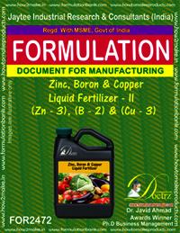 Zinc Boron Copper liquid Fertilizer 2 Formula