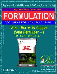 Zinc, Boron & Copper Solid Fertilizer-I Formula