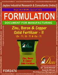 Zinc, Boron & Copper Solid Fertilizer-II Formula