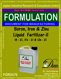 Boron, Iron & Zinc Liquid Fertilizer-II Formula