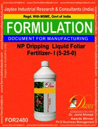 NP Dripping Liquid Foliar Fertilizer-I Formula