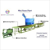 Vibrator Paver Block Table Machine