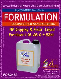 NP Dripping & Foliar Liquid Fertilizer-I Formula