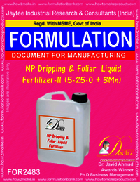 NP Dripping & Foliar Liquid Fertilizer-II Formula