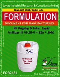 NP Dripping & Foliar Liquid Fertilizer-III Formula