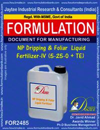NP Dripping & Foliar Liquid Fertilizer-IV Formula