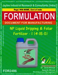 NP Liquid Dripping & Foliar Fertilizer-I Formula
