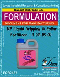 NP Liquid Dripping & Foliar Fertilizer-II Formula