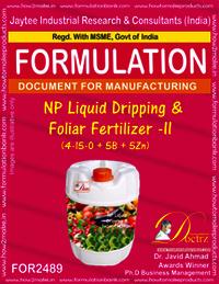 NP Liquid Dripping & Foliar Fertilizer -II