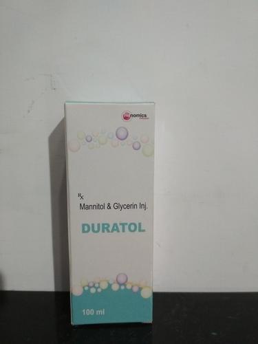 Mannitol Glycerin