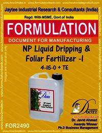 NP Liquid Dripping & Foliar Fertilizer -I