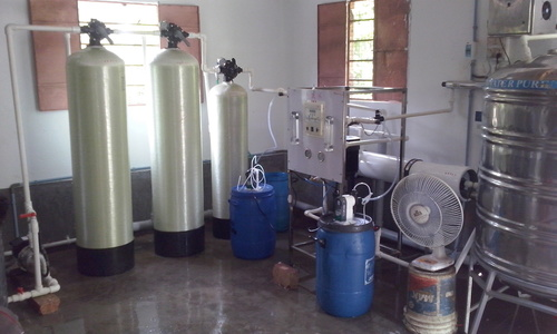 RO Water Plant With Softener