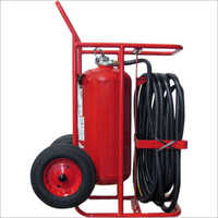 Wheeled Foam Extinguisher
