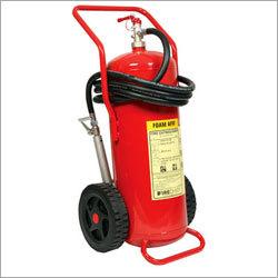 Wheeled Fire Foam Extinguisher