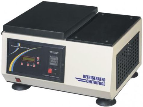 Refrigerated Micro Centrifuge Brushless 20000 RPM High Speed (Microprocessor Based Digital)