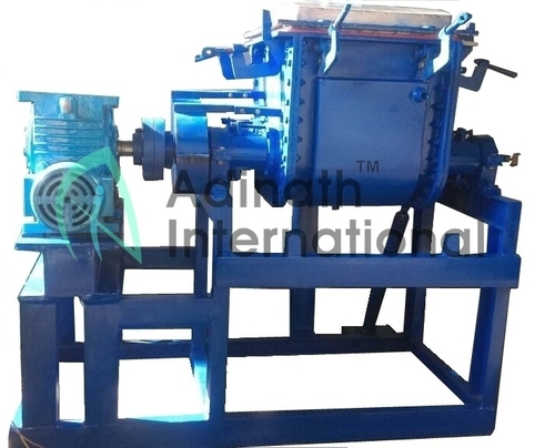 High Viscosity Silicone Rubber Kneader Reactor with Screw Extruding Discharging 300L