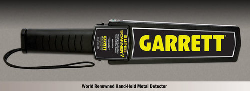 Garrett  Super Scanner Hand Held Metal Detactor