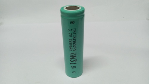 Cham 3.7V, 2200mAH Li-ion Battery, 18650-2200mAH