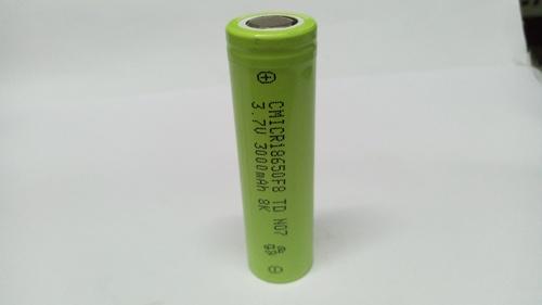 Cham 3.7V, 3000mAH Li-ion Battery, 18650-3000mAH