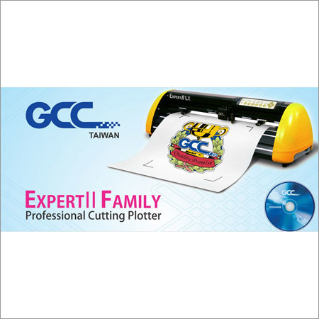 Expert II Professional Cutting Plotter by GCC Taiwan