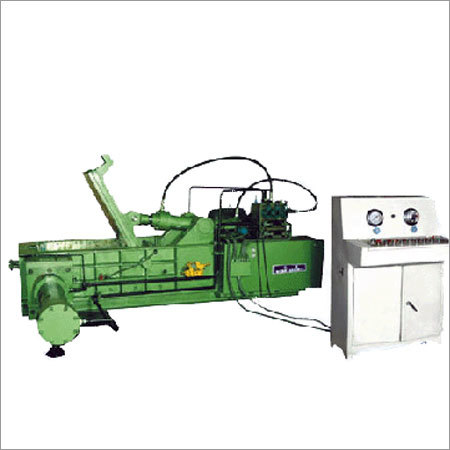 Hydraulic Baling Press for metal scrap