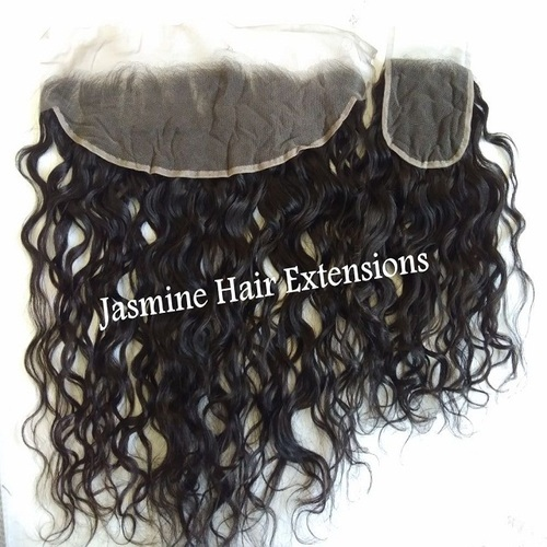 Natural Black Wavy Hair Frontal and Closure