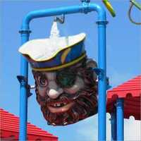 Tilting Bucket with Pirate Theming