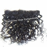 Lace Wavy Hair Transparent Swiss Lace Frontal 13x4