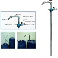 FIT TOOLS 50 Gallon Pneumatic High Flow Oil and Liquid Dispenser