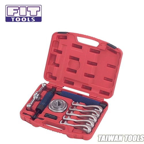 FIT TOOLS Two Way 12 Tons Hydraulic Gear 5 Jaws Hub Puller Kit