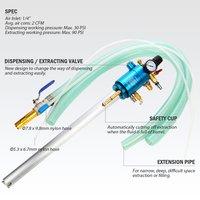 2 Way Extract/Dispense High Flow 200 Liter/50 Gallon Tank Pneumatic Oil Extractor
