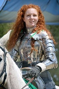 NauticalMart Lady Pauldrons Set Armour Halloween Costume