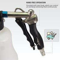 FIT TOOLS Economical Grip Type Air Brake Fluid Bleeder Extractor with Dispensing Bottle