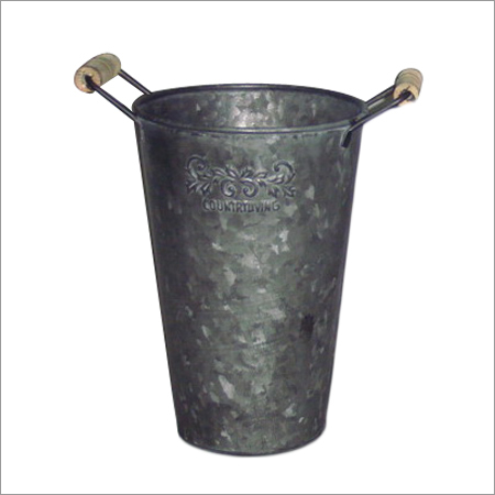 Iron Planter With Handles