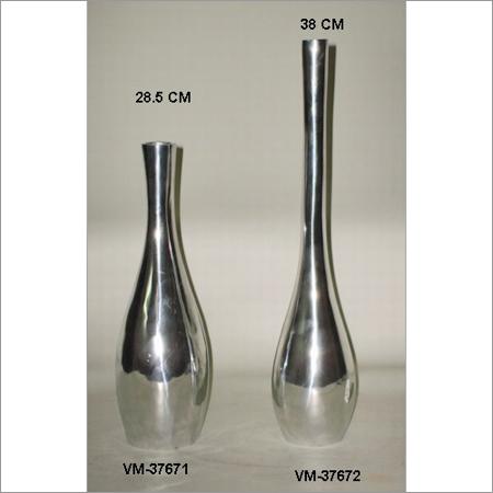 Aluminum Floor Vases