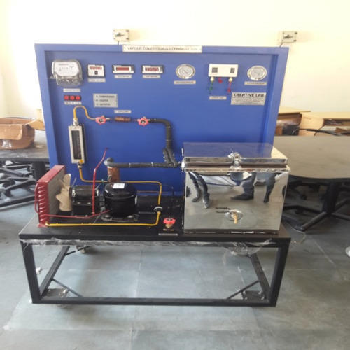 Refrigeration Test Rig With Data Logging Facility