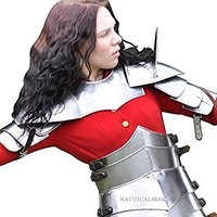 NauticalMart Reproduction Lady Armour Gothic German Style Medieval Halloween Costume -Custom Size