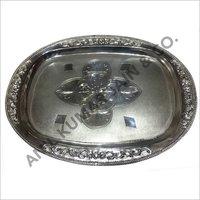 Decorative Silver Tray