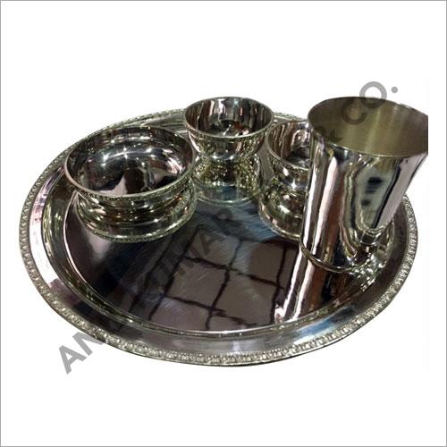 Decorative Silver Dinner Set