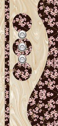 Wooden Membrane Door Paper Print