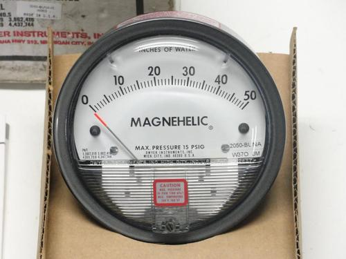 DWYER USA Magnehelic Gauges 0 To 50 MM WC