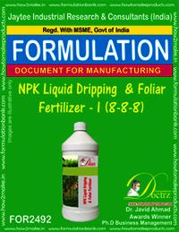 NPK Liquid Dripping & Foliar Fertilizer-I
