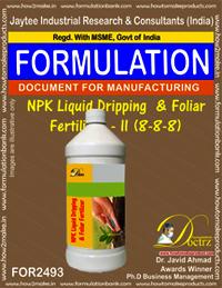 NPK Liquid Dripping & Foliar Fertilizer – II